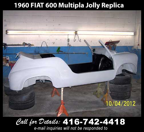 1961 Fiat 600 Jolly replica