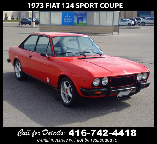 1973 Fiat 124 sport coupe
