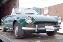 1968 Fiat Spider Original Condition
