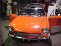 Orange Fiat Spider Complete Restoration
